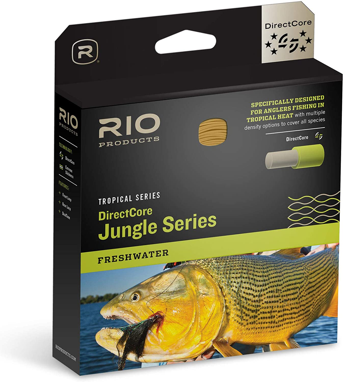 RIO Products Brands DirectCore Jungle Fly Line
