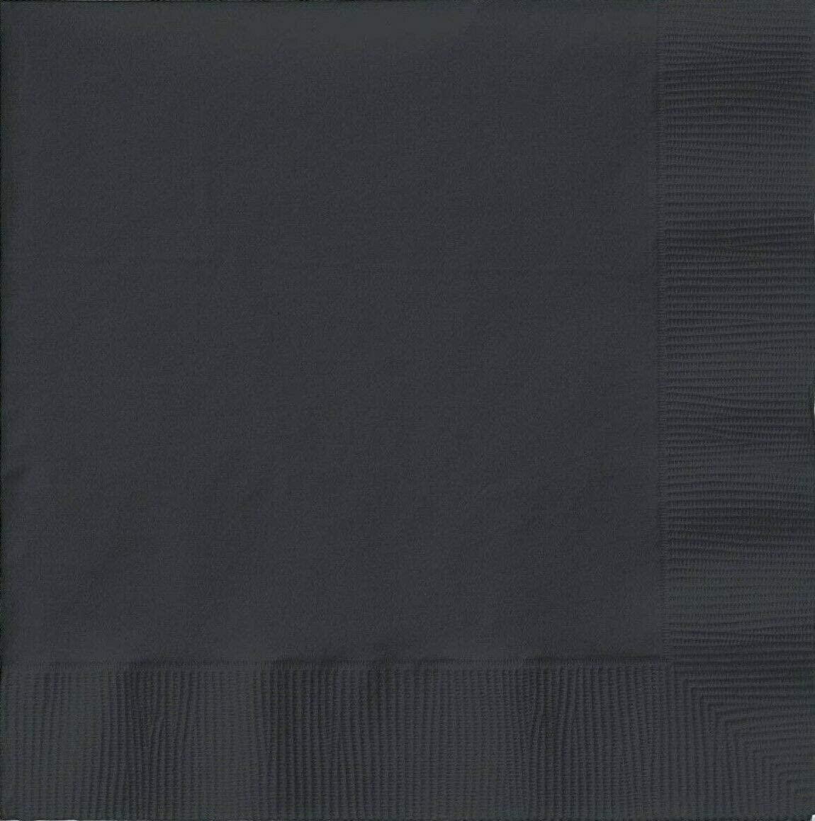 Creative Converting-Black Velvet Napkins-Dinner