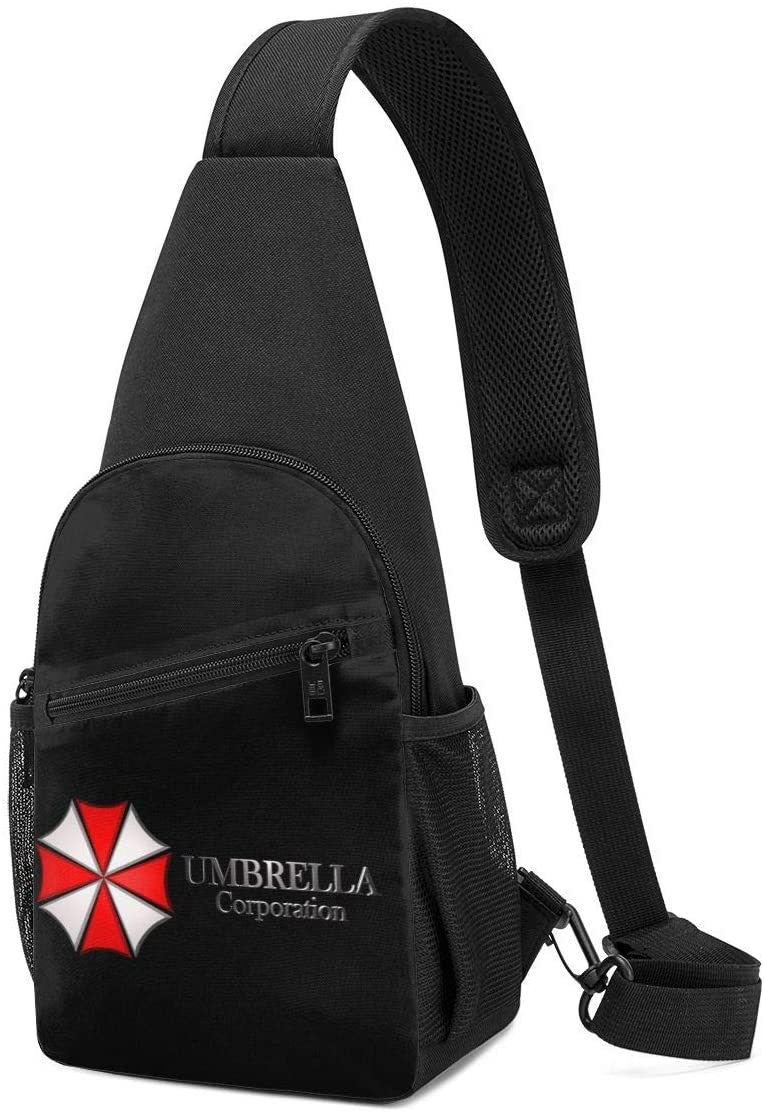 N/C Resident Evil Sling Bag Chest Bag Shoulder Backpack Cross Body Travel