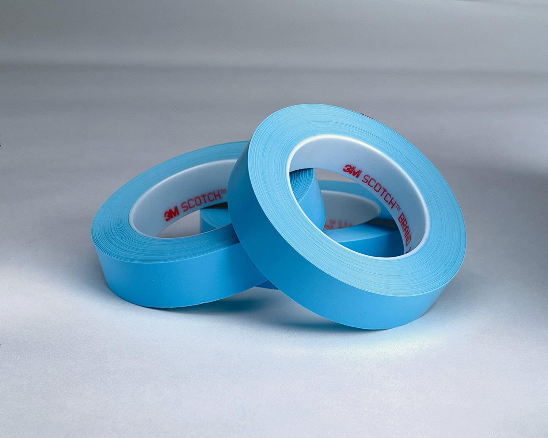 Scotch Fine Line Tape 215, Blue, 1/4 in x 60 yd, 4.8 mil