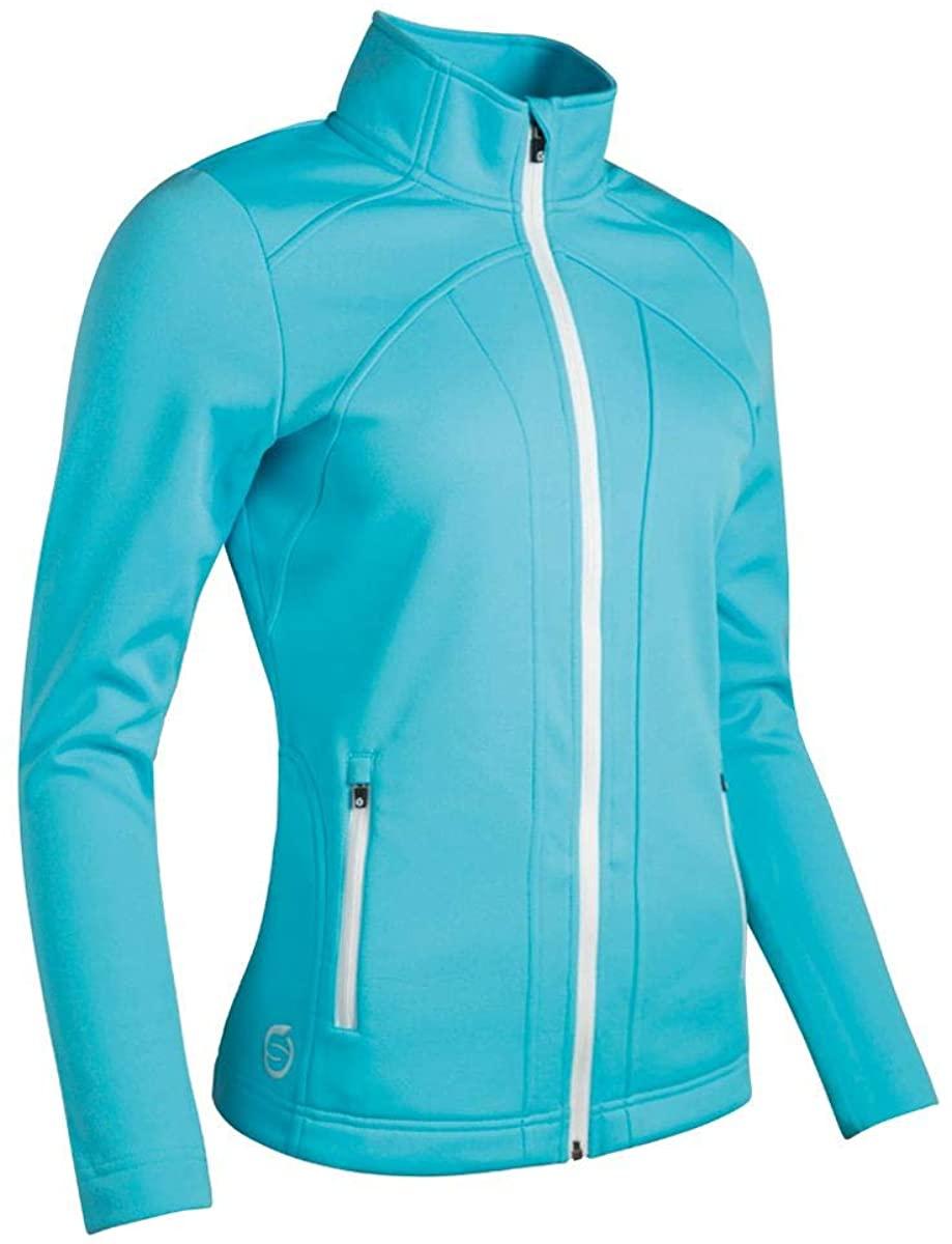 Sunderland Ladies SUNLC78 Lightweight Zip Front Fleece Golf Jacket