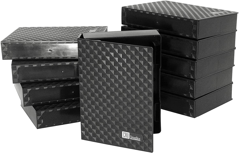 DriveBox Mini Anti-Static Storage for 2.5-inch Hard Drives and SSDs (10 pk)