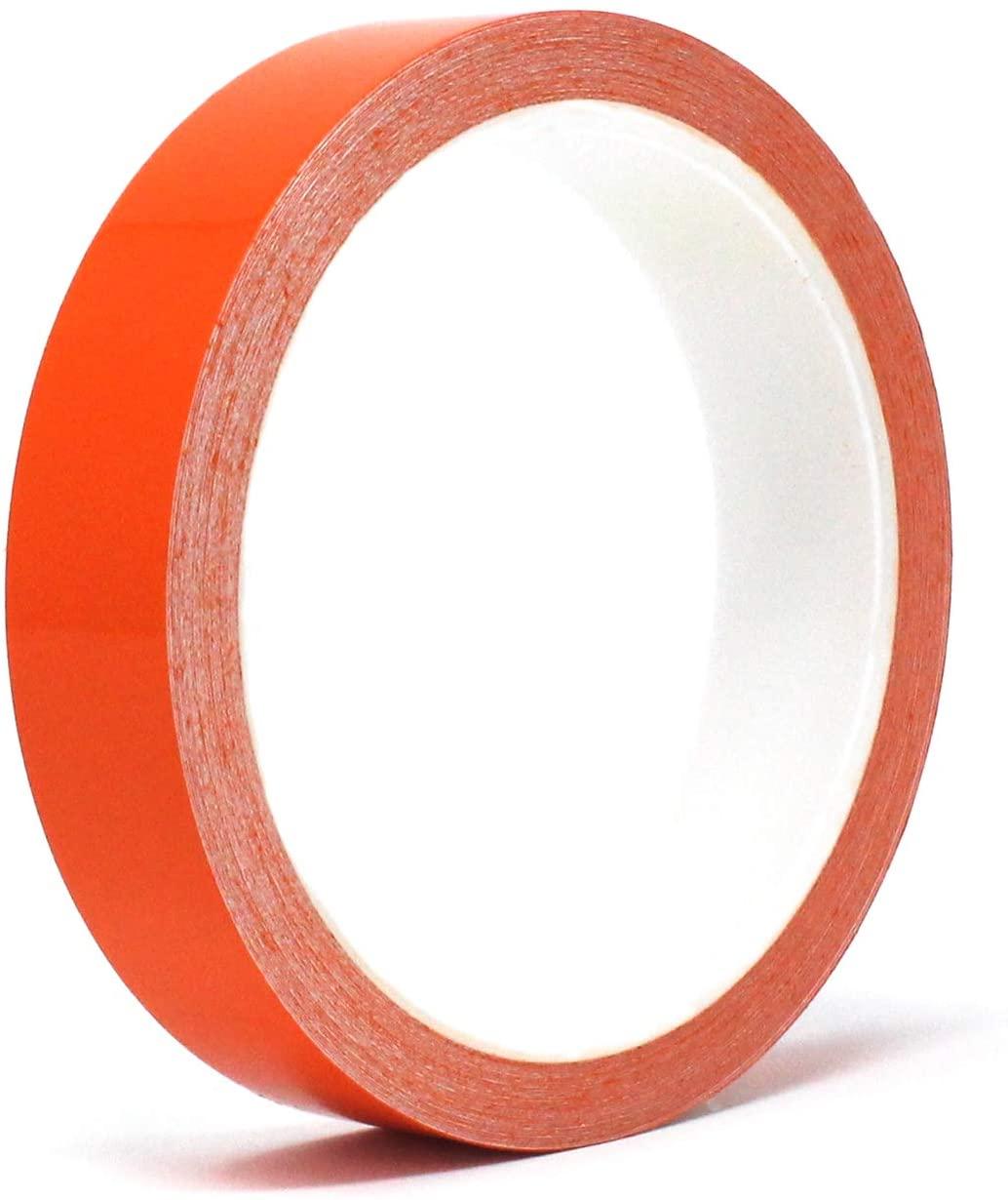 "Finest Folia Oracal Vinyl Stripe Tape 751 Pinstriping Striping Sticker 33ft Car Motorcycle Bike RC Car Truck Boat Decal (Orange Glossy, 0,590"")"