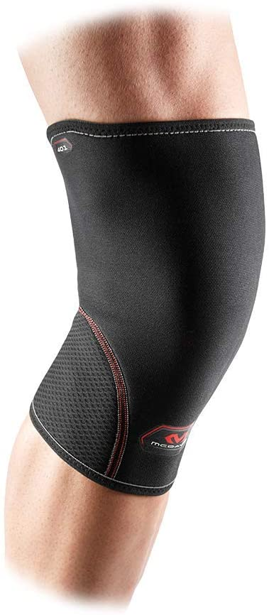 Neoprene Knee Support: McDavid Knee Compression Sleeve - Provided Added Thermal Compression and Support During Exercise for Men & Women - Includes 1 Sleeve (1 unit)