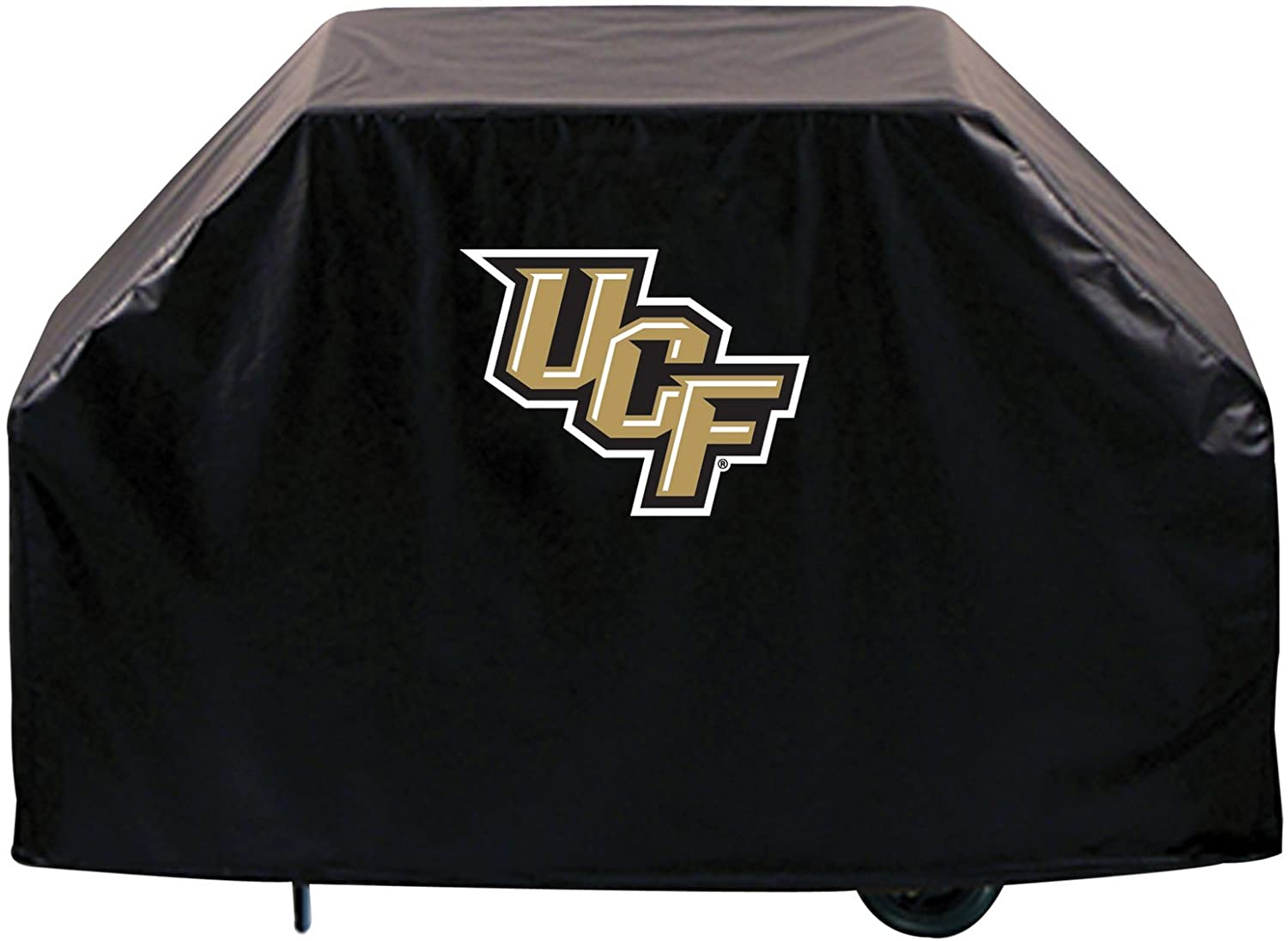 Holland Bar Stool Co. UCF Knights HBS Black Outdoor Heavy Duty Breathable Vinyl BBQ Grill Cover