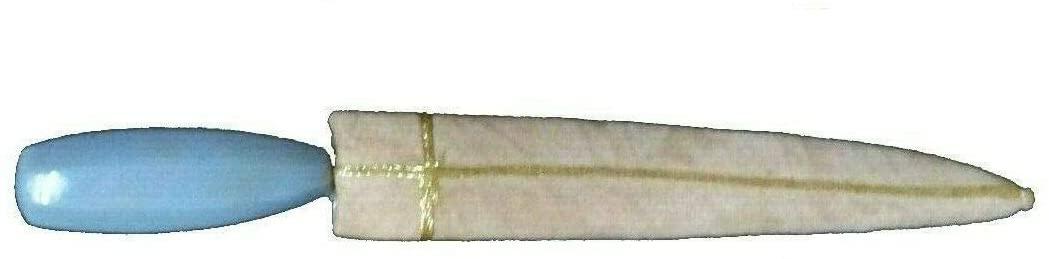 Rajasthan Gems Dagger Knife Damascus Steel Blade Agate Natural Stone Handle Small Dagger