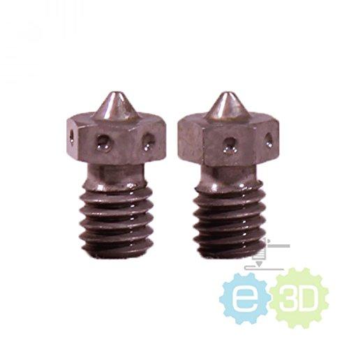 E3D V6 Nozzle - Hardened Steel: 0.40mm for 3mm filament