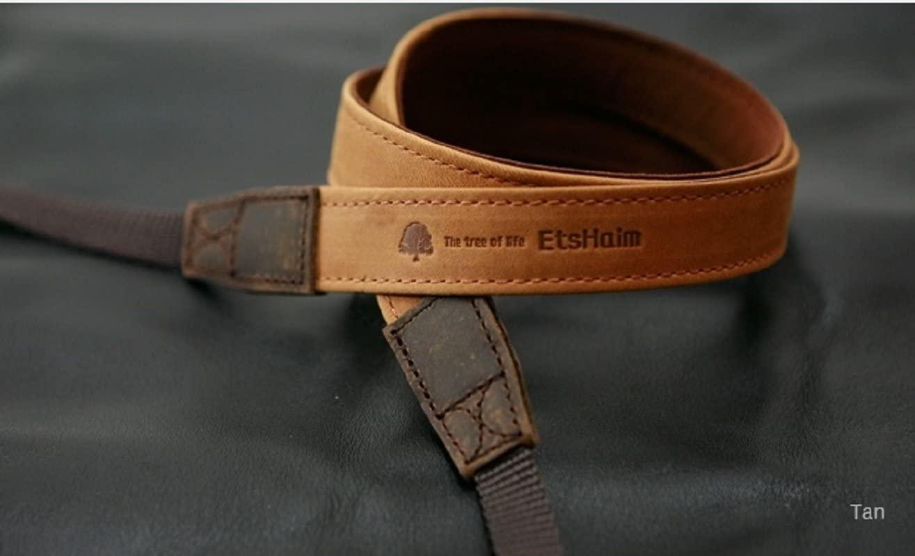 MATIN Vintage-30 BRWON DSLR SLR Camera Neck Shoulder Leather Strap