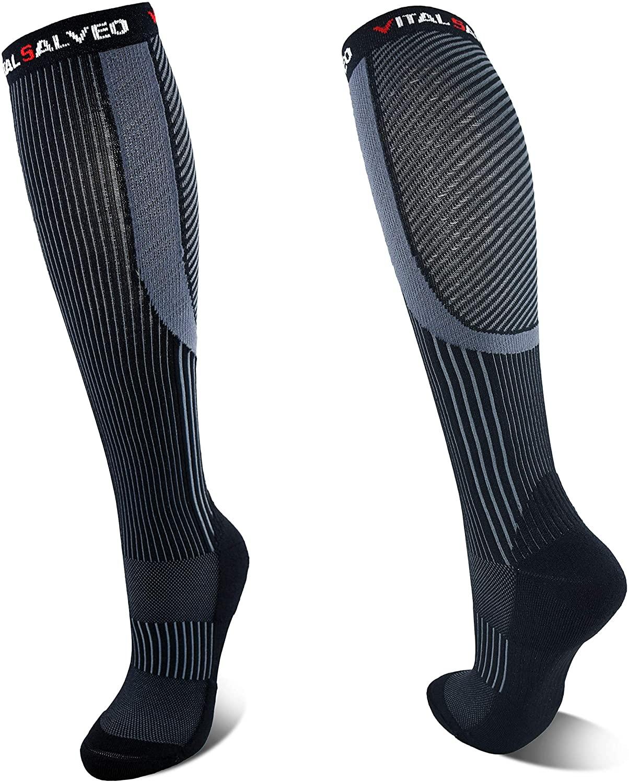 Vital Salveo- Graduated Compression Socks Sports Recovery Stockings(1 Pair)
