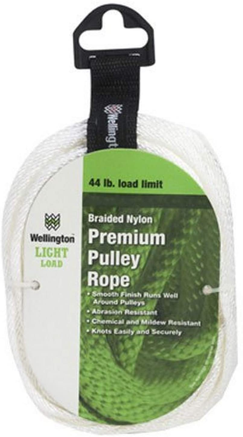 LEHIGH GROUP 16350 LEHIGH GROUP 16350 Solid Braided Nylon Rope, 3/16 in. x 500 ft.