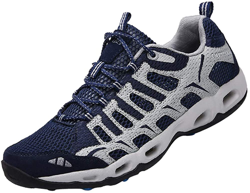 Dabbqis Hiking Shoes for Men Trail Running
