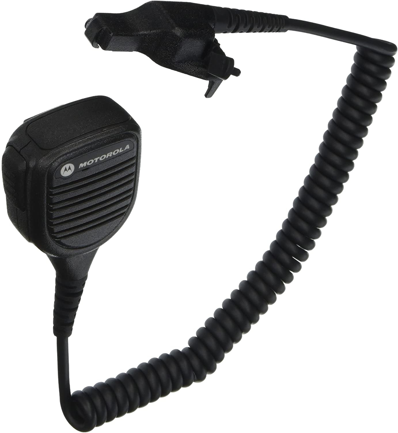 Motorola Original OEM PMMN4051 PMMN4051B Windporting Remote Speaker Microphone with 3.5mm Audio Jack, IP55 Water Resistant, Intrinsic Safety Standard FM