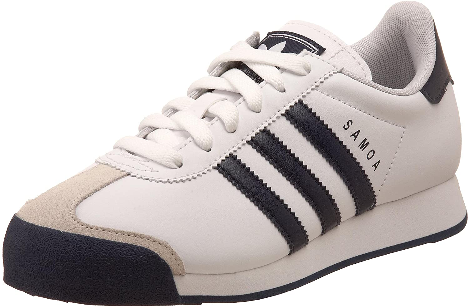 adidas Originals Samoa Sneaker (Little Kid/Big Kid),White/New
