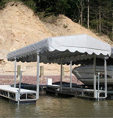23' X 108'' Shoremaster Premium Vinyl Boat Lift Canopy