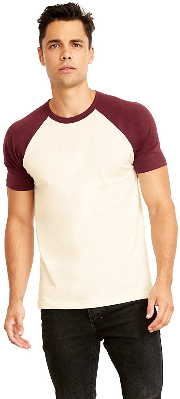 A Product of Next Level Unisex Raglan Short-Sleeve T-Shirt -Bulk Discountn