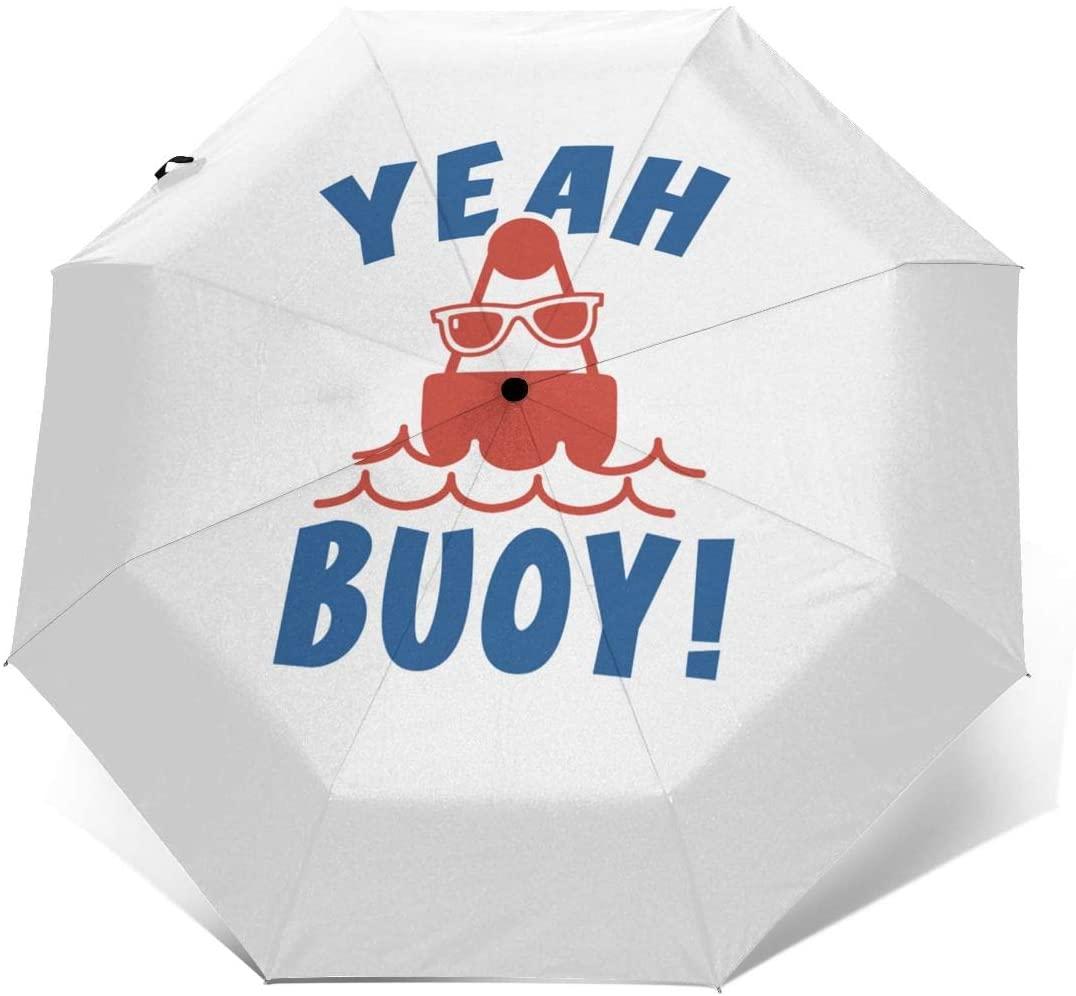 CHAN03 Yeah Buoy Automatic Tri-fold Sunscreen Umbrellas Folding Umbrella