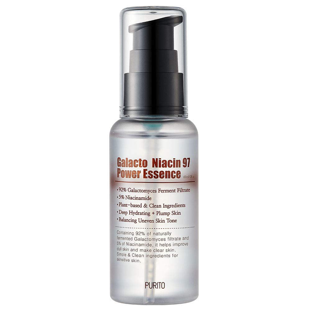 PURITO Galacto Niacin 97 Power Essence 2 fl.oz /92% galactomyces/fermented/Treatment essence/pore control