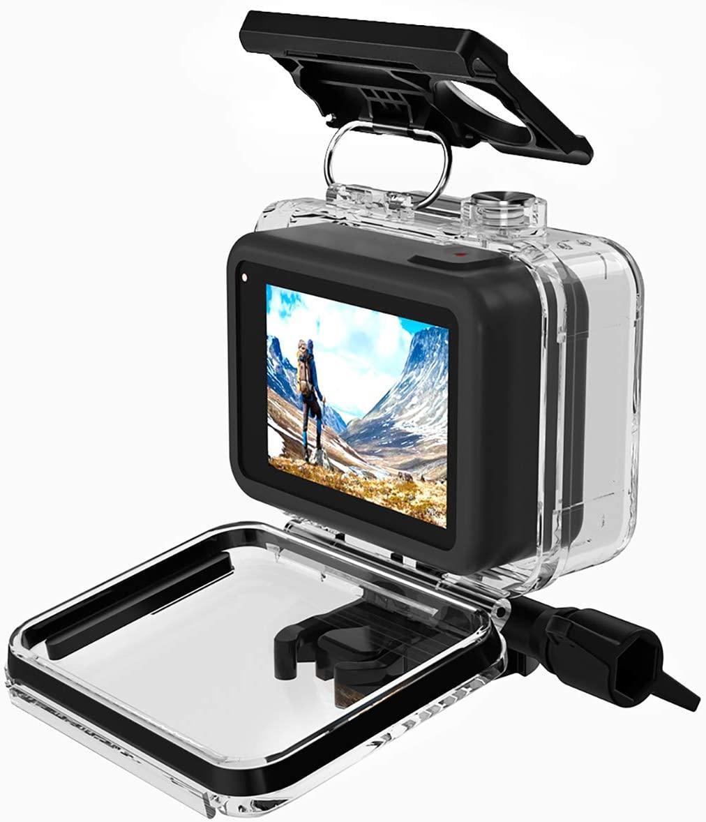 ULANZI G8-1 Waterproof Housing Case for GoPro Hero 8, Diving/Swimming Vlogging Accessories