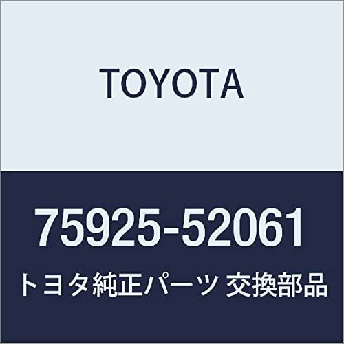 TOYOTA 75925-52061 Black Out Tape