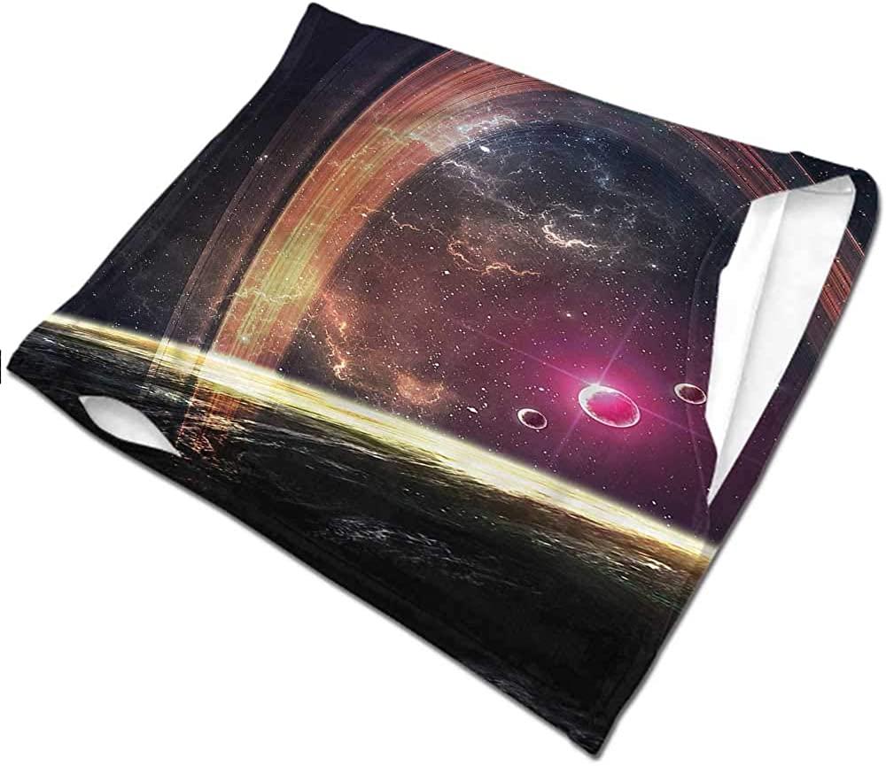 Face Bandana Galaxy,Nabula Dust with Stars Fishing Neck Gaiter Sun Protection