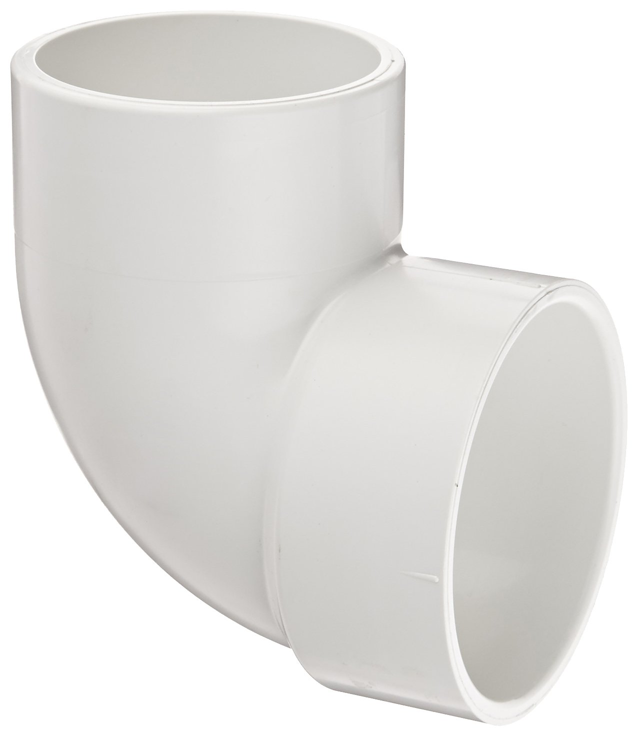 Spears P333 Series PVC DWV Pipe Fitting, Vent Elbow, 3