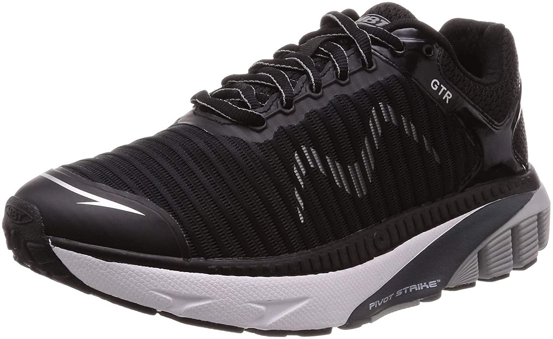 MBT Men's GTR Running Shoe and Walking Shoe with Rocker Bottom Maximum Cushion