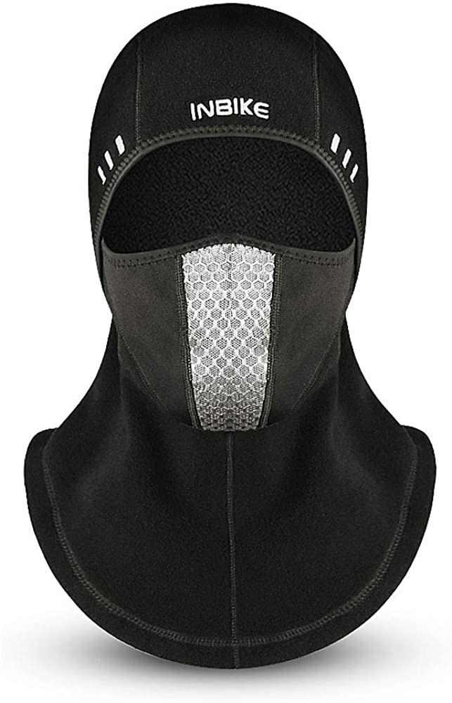 Suxman Balaclava Face Mask, Windproof Ski Mask for Men Women, Cold Weather Face Mask Neck Warmer for Skiing, Snowboarding, Motorcycling & Winter Sports Black
