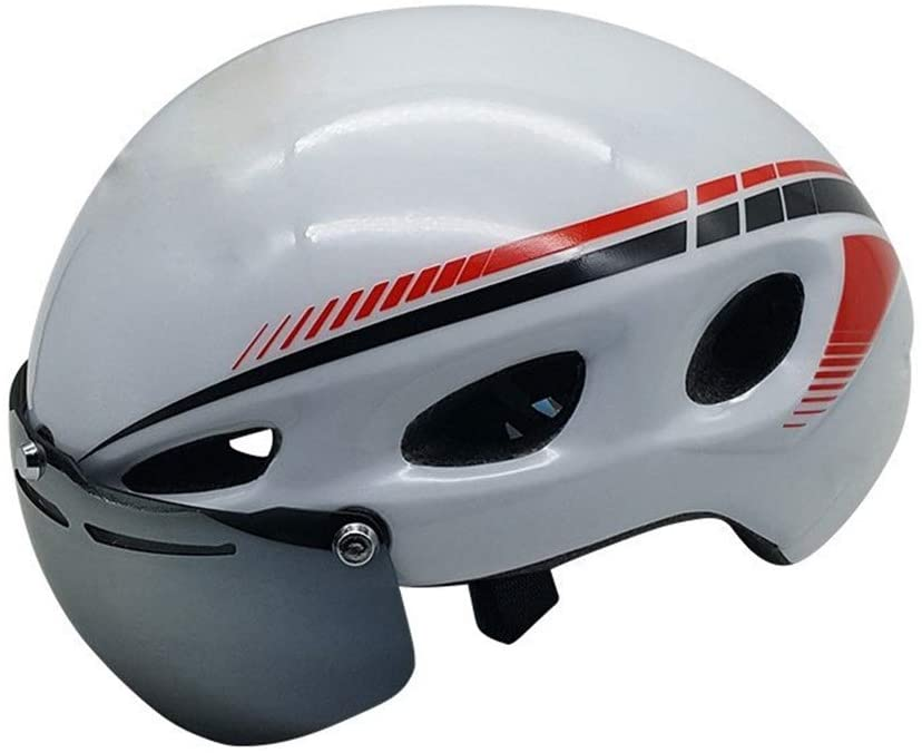 Slowoi Bicycle Helmet Riding Mountain Bike Road Safety Helmet merged charismatic Goggles