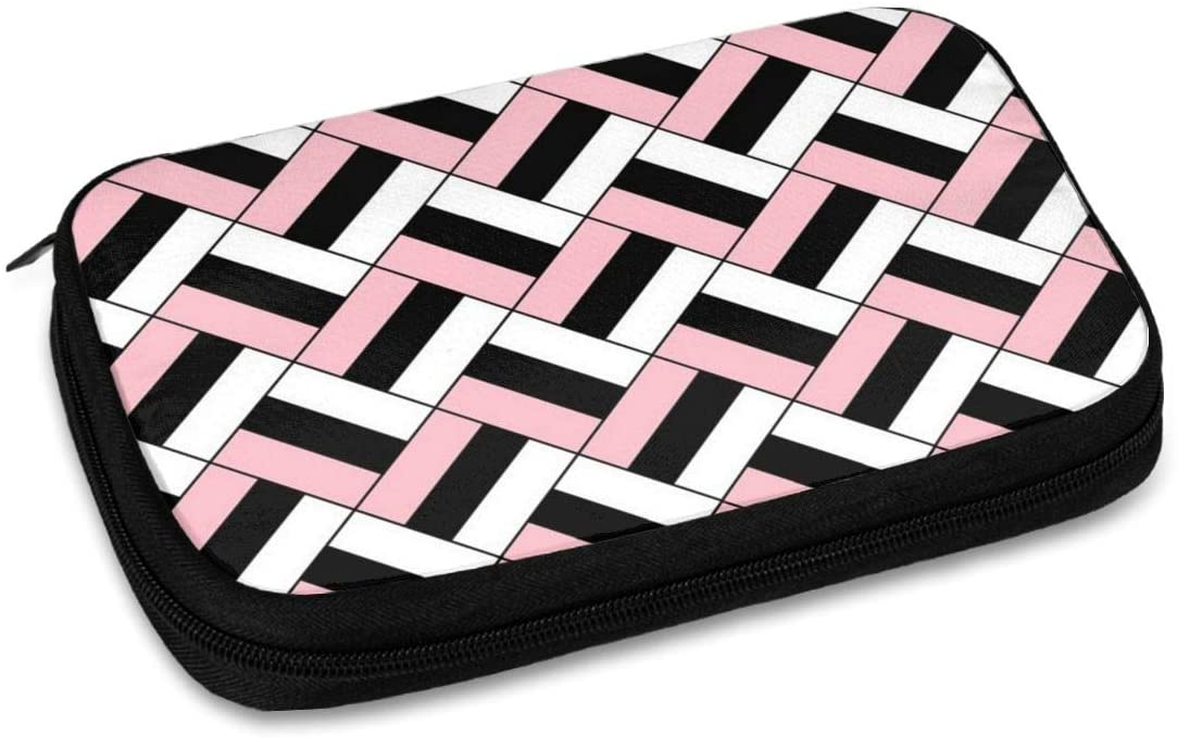 Pink Data Line Storage Bag Cable Box Protective Case