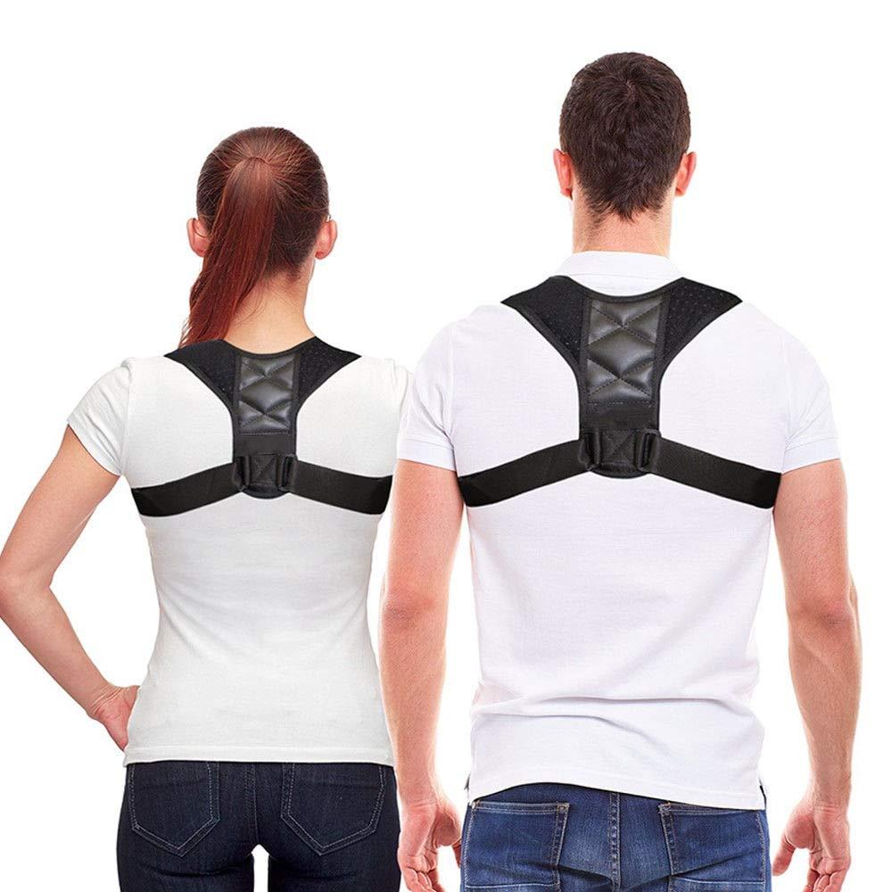 Posture Corrector for Men and Women – Upper Back Brace Clavicle Support Shoulder Brace Relieves Neck, Shoulder & Back Pain
