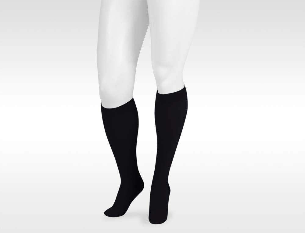 Juzo Dynamic Varin Max 3511 Knee-High 20-30mmhg Silicone Band Closed Toe Sock