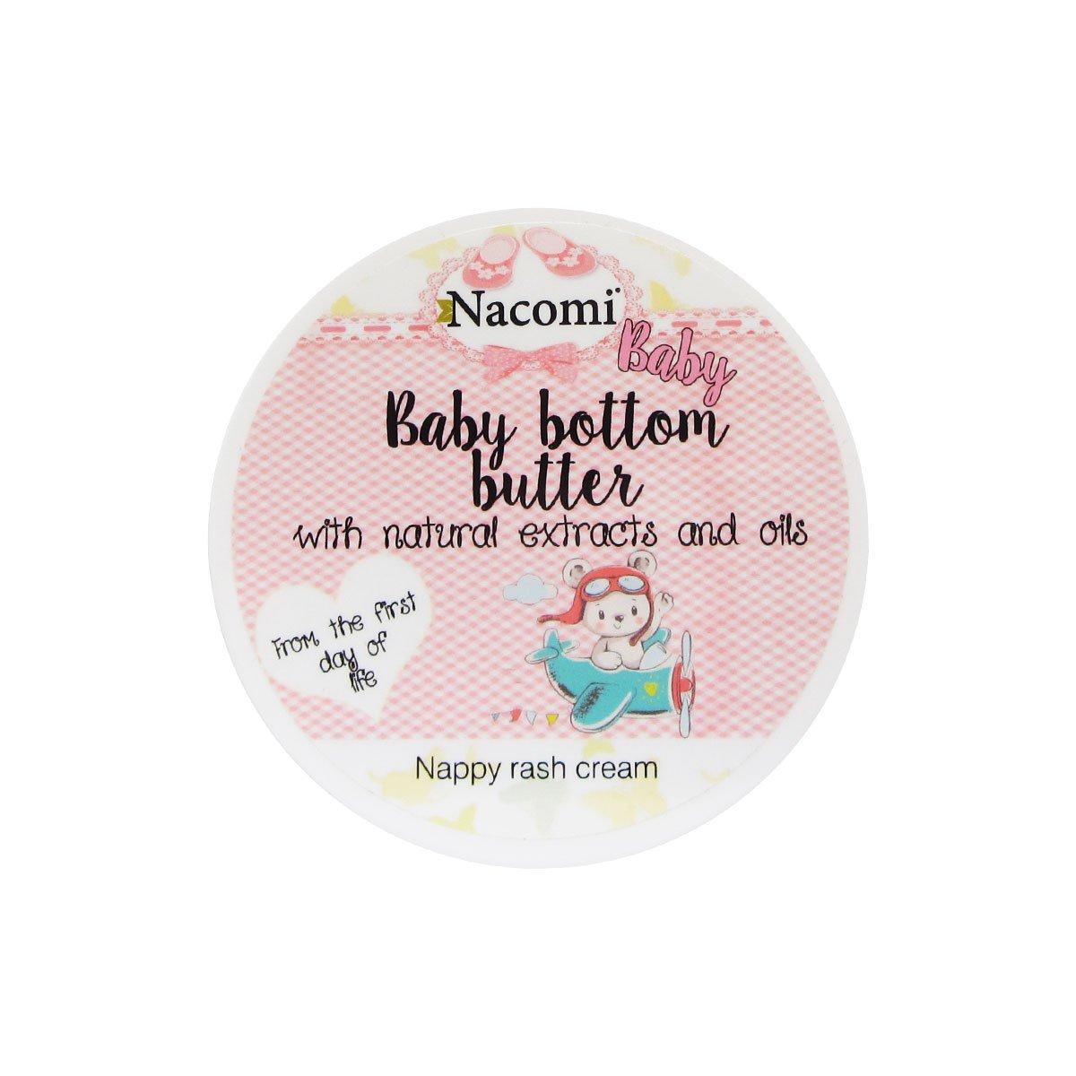 Nacomi Natural Baby Bottom Butter 3.5oz