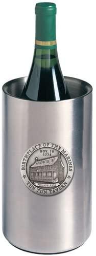 1pc, Pewter Marines Tun Tavern Wine Chiller