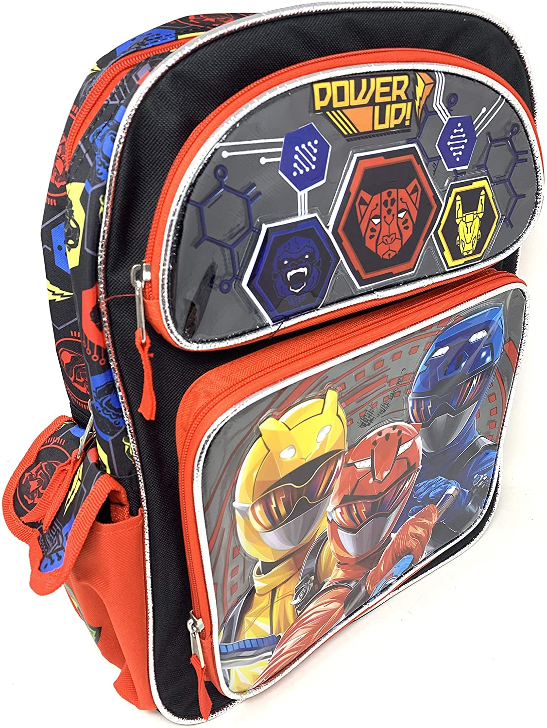 Saban's Power Rangers 16 inch Backpack with Side Pockets
