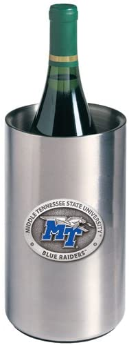 1pc, Pewter Middle Tennessee State University Wine Chiller