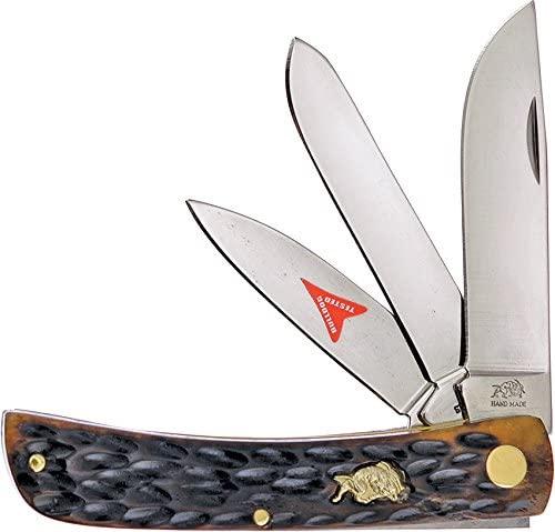 Dianova FBDG173AGB Bulldog Folder Antique Bone Tactical Folding Knives