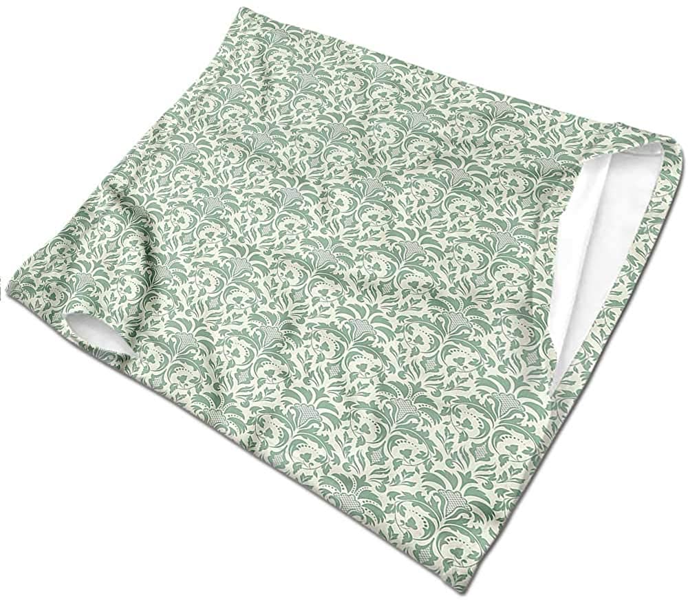 Hair Scarf Damask,Victorian Style Old Fashion Breathable face Covers