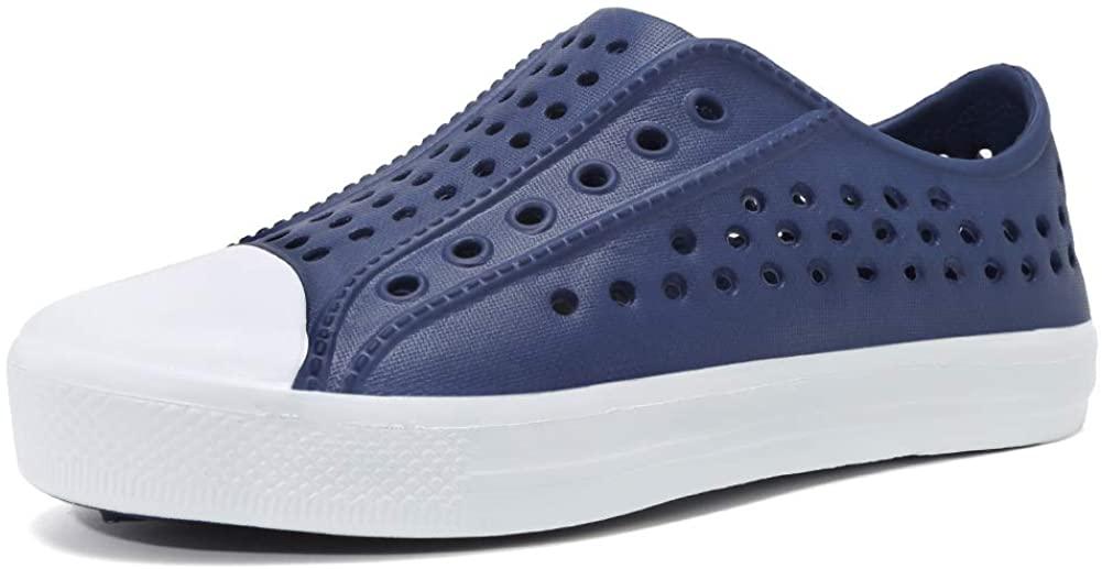 seannel Kids Sandal Water Shoes Slip-On Sneaker LightweightBreathable Outdoor & Indoor-U819STLXS001-X-Blue-27