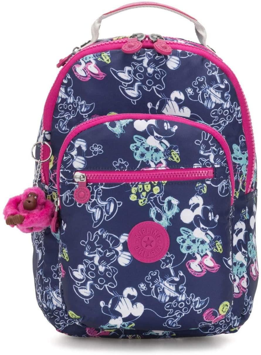 kipling D SEOUL GO S Small Backpack DOODLE BLUE