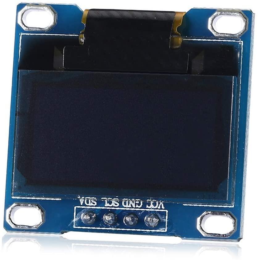 KXA Blue Font 0.96 128x64 I2C Interface OLED Display Module for