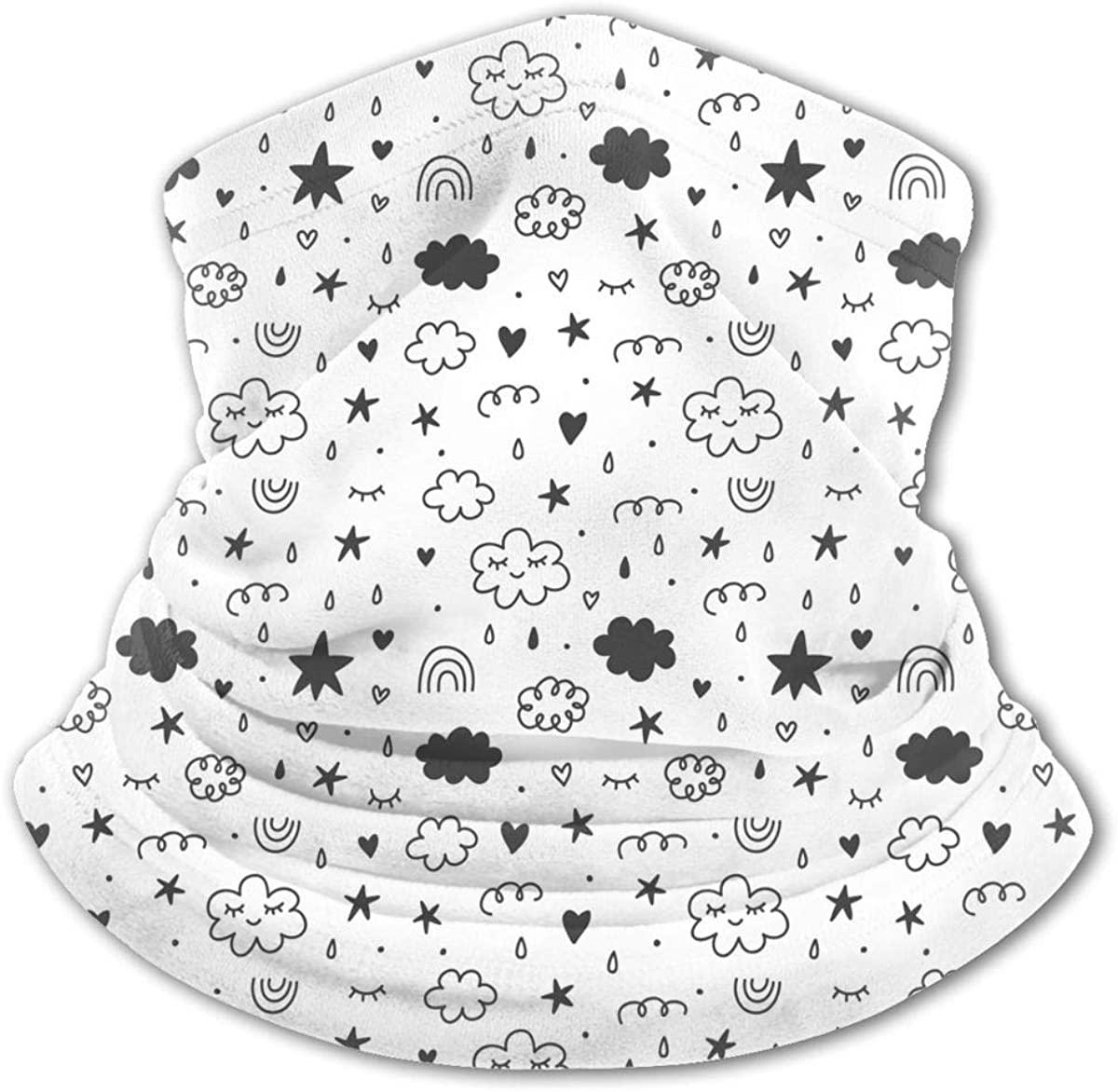 Magic Fairy Tale Kids Neck Gaiter Balaclava Bandana Headwear Cooling Scarf Variety Face Towel