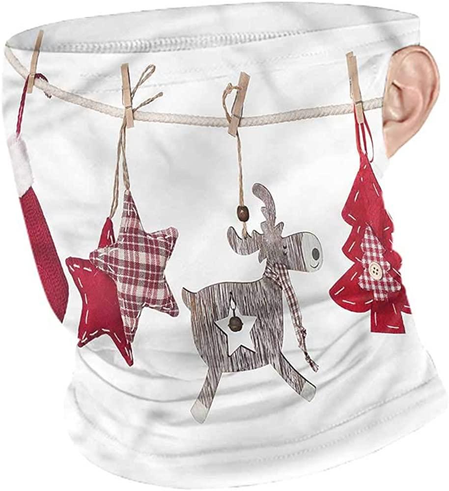 Headwear Christmas,Retro Items on Rope Seamless UV Protection