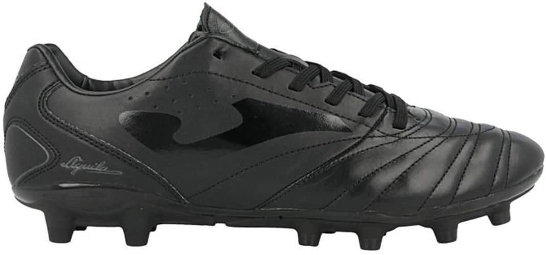Joma Men's Aguila GOL FG Firm Ground Soccer Shoes (7, Black)