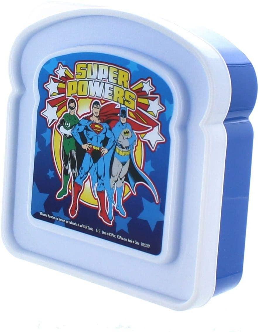 DC Super Powers Sandwich Container