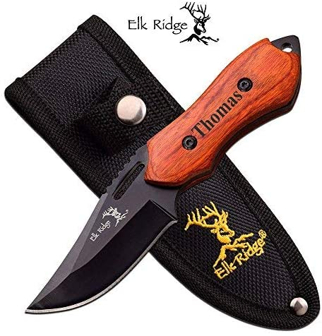 Forevergifts Free Engraving - Quality Fixed Blade Knife 6
