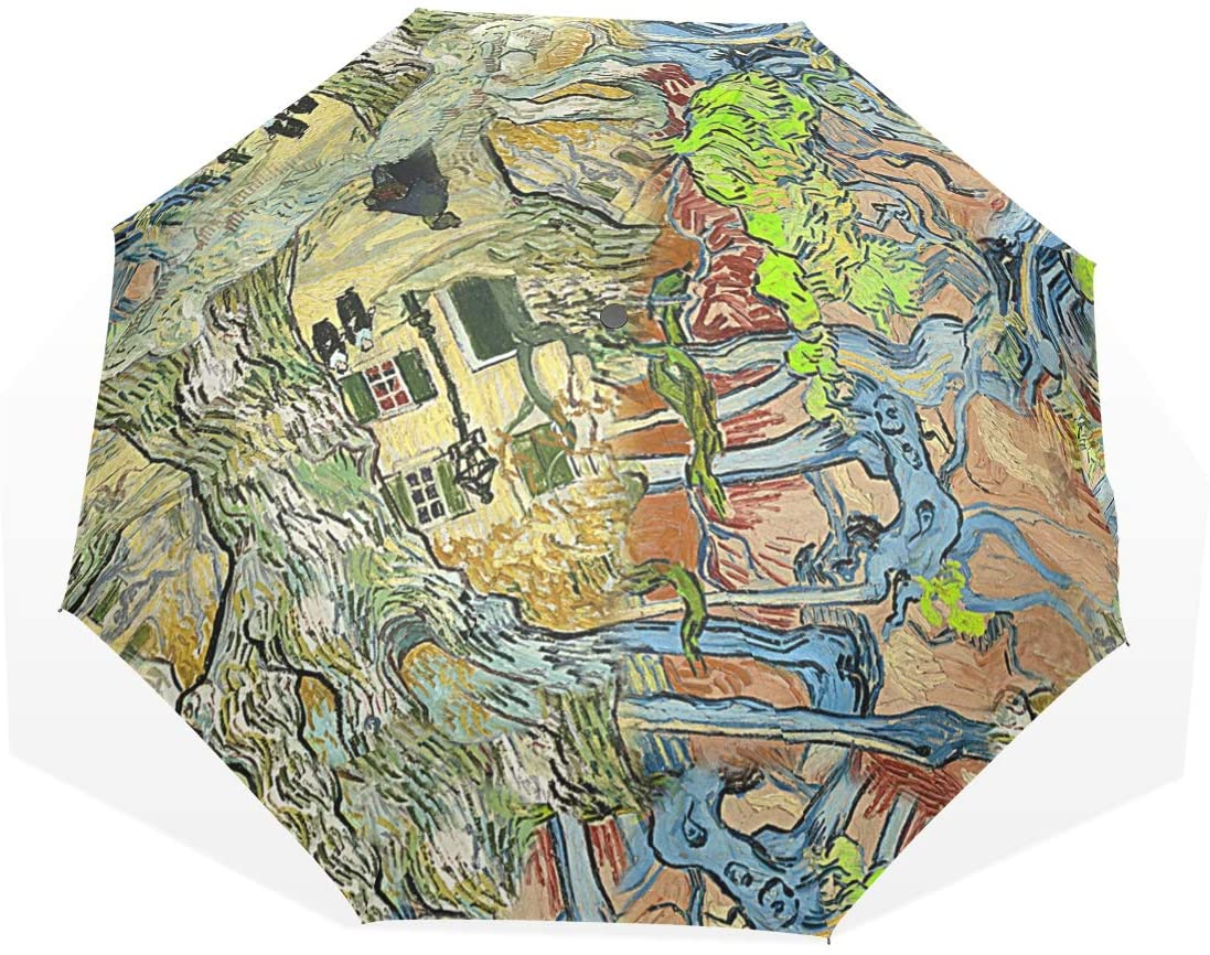 Huakz Van Gogh's Works Customized Umbrella Surface Design Abstract Imagism 10.5