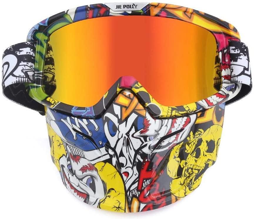 Home bathroom products Motocross Goggles, Motocross Goggles, Retro Goggles, Helmet Windproof, A01 Color Film