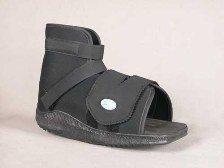 Darco International Slimline Cast Boot Black Sq. Toe - Extra Large