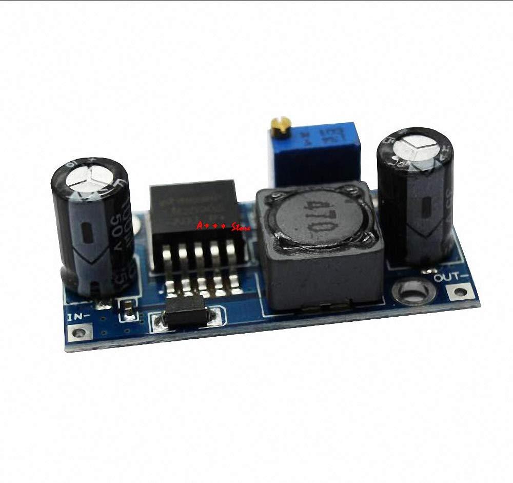 5pcs LM2596 LM2596S ADJ Power Supply Module DC-DC Step-Down Module Adjustable Voltage Regulator 3A