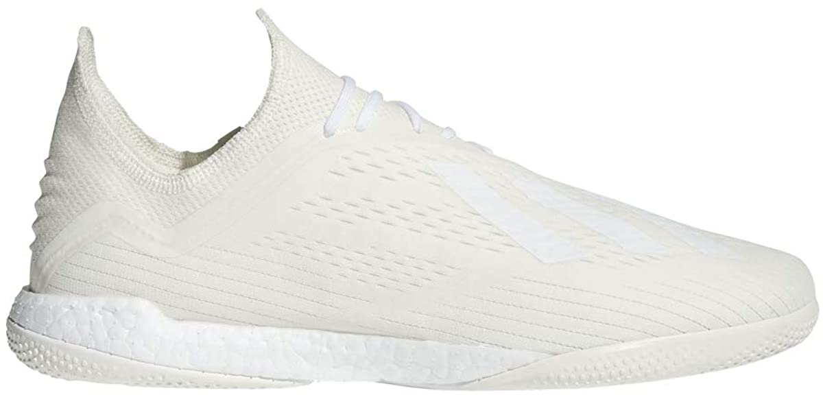 adidas Men's X Tango 18.1 Trainer-Off White/FTWR White/CORE Black